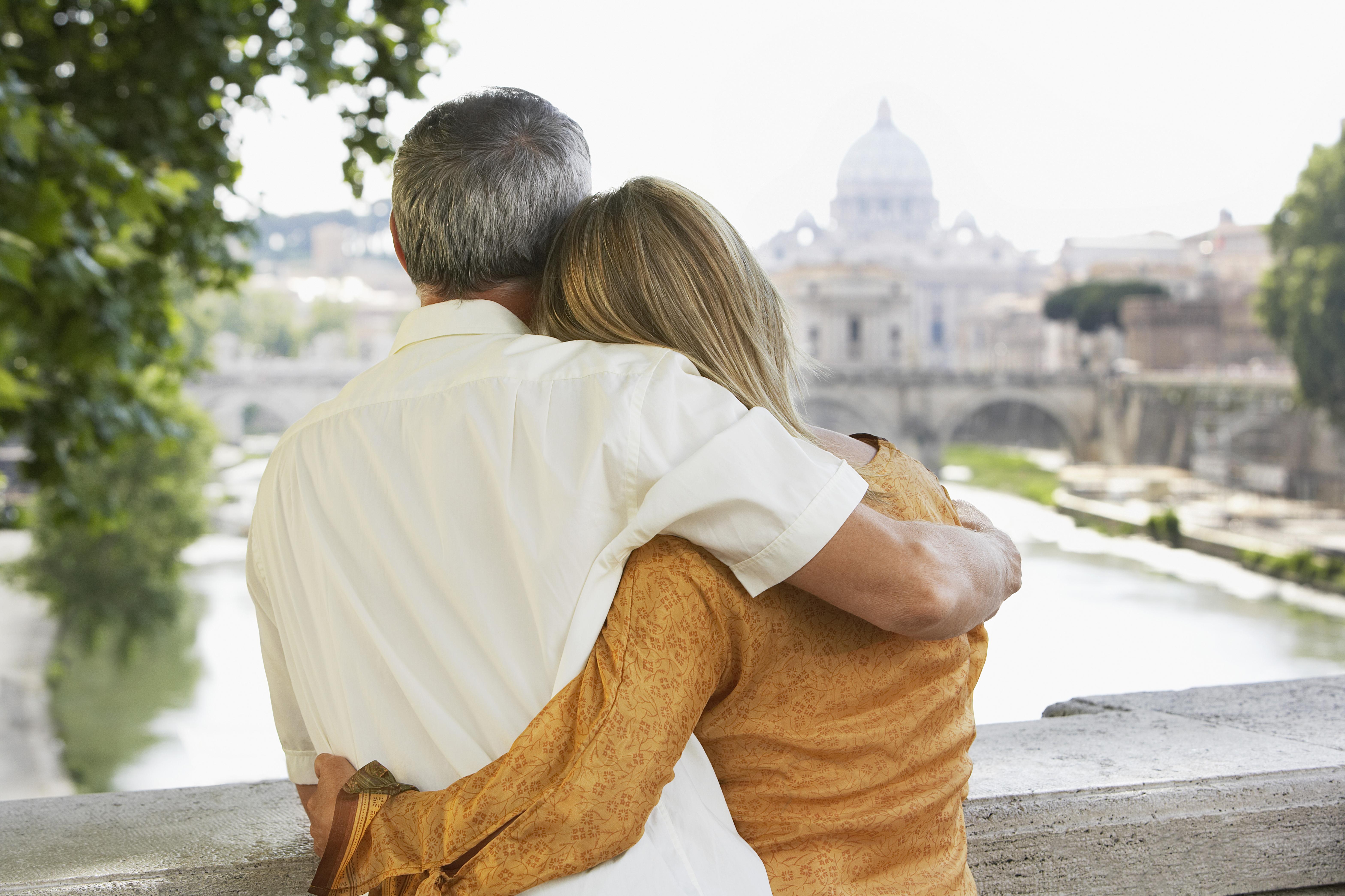 de vacaciones en roma con vistas al castillo de sant angelo
